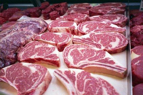 توزیع گوشت شترمرغ